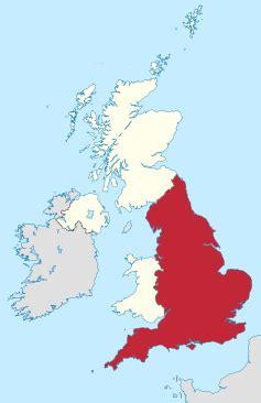 אנגליה- מדינה